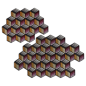 Hexagon Rug by GAN