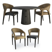 Endra Container Table Chairs