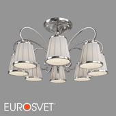 ОМ Потолочная люстра с абажурами Eurosvet 60088/8 Tessa