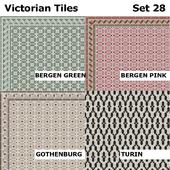 Topcer Victorian Tiles Set 28