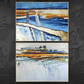 Paintings abstract | set 433
