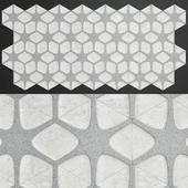 ANN SACKS Geode concrete by Andy Fleishman