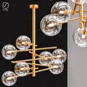 Bolle hanging lamp gallotti & radice