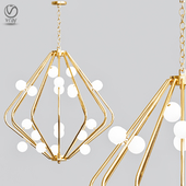 CHERRY BOMB Cage Chandelier designed by Lindsey Adelman