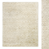 Verso Moroccan Hand-Knotted Wool Rug RH