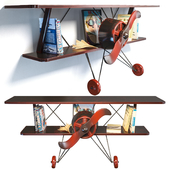 Bookshelf La Nage Loft Airplane