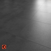 Shadow anthracite floor tile