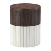 Zuo Wooden Round Garden Seat
