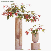 Branches in vases # 18: Sacred Bamboo