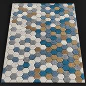 Kaleidoscope rug Boconcept (low poly)