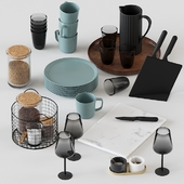 H&M decorative set for the kitchen