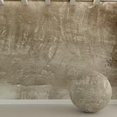 Бетонная стена. Старая штукатурка. 45