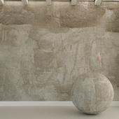 Бетонная стена. Старый бетон. 92