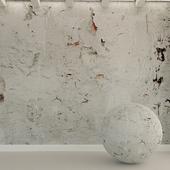 Бетонная стена. Старая штукатурка. 47