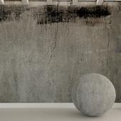 Бетонная стена. Старый бетон. 99