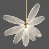 Gem Cluster Chandelier 09 Transparent by Giopato & Coombes