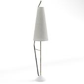 Scandinavian mid-century floor lamp