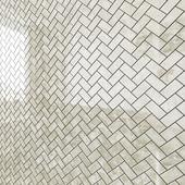 ATLAS CONCORDE RUSSIA SUPERNOVA ONYX Herringbone Mosaic