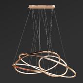LED Oval Rings Chandelier