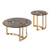 Garda Decor - Coffee table CT062GOLD, ET062GOLD
