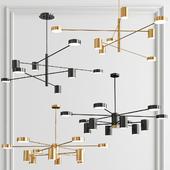 Sputnik Ambient 8 & 12 Lights Chandelier