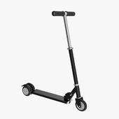 Kick scooter black