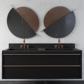 black Modern Bathroom Furniture