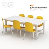 ikea NORDVIKEN / LEIFARNE Table and chairs
