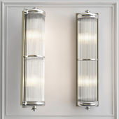 Wall lamp Glorious XL Nickel