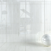 Wall tiles 336 Bianco Dolomite Set 2