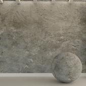 Concrete wall. Old concrete. 103
