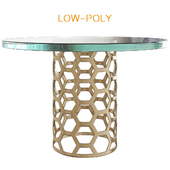 Angeline Dining Table Metal
