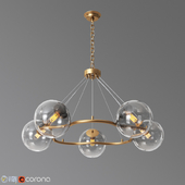 Surface To Air 5 Light Chandelier