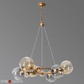 Bubbles 9 light chandelier