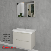 Bathroom Furniture MA ZEN BEIGE 80cm