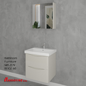 Bathroom Furniture MA ZEN BEIGE 60cm