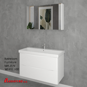 Bathroom Furniture MA ZEN WHITE 100cm
