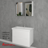 Bathroom Furniture MA ZEN WHITE 80cm
