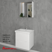 Bathroom Furniture MA ZEN WHITE 60cm