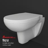 ROCA DEBBA ROUND rimless hanged toilet
