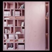 Wardrobe _ plywood pink