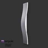 OM Gypsum 3D panel SURF LED by Artpole