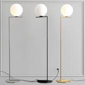 Floor lamp IC Lights F Chrome