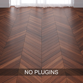 Walnut Wood Parquet Floor Tiles vol.010 in 3 types