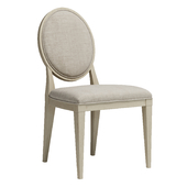 Bernhardt East Hampton Oval Back Side Chair
