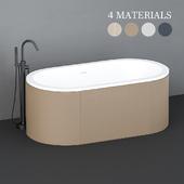 Cielo Cibele freestanding bathtub
