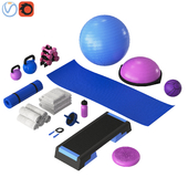 Home fitness set