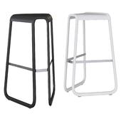 MYG by Desalto Bar stools White / Black