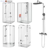 Set of shower cabins Ravak set 64