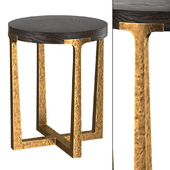 T-BRACE ROUND SIDE TABLE